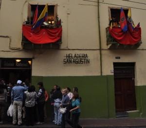 Heladería de San Agustín Quito Ecuador