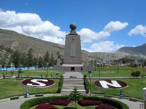 Quito-Ecuador Mitad del Mundo - Equator Line