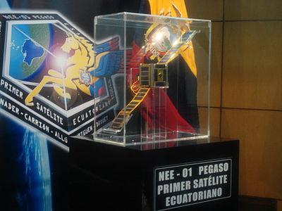 Primer Satelite del Ecuador