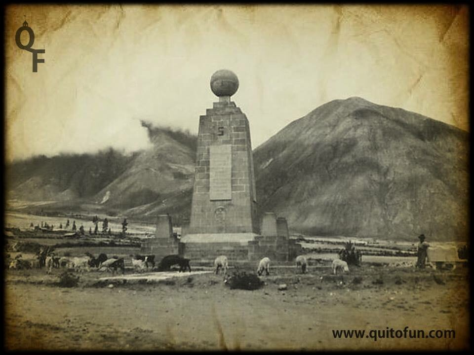 Antiguo Monumento de la Mitad del Mundo